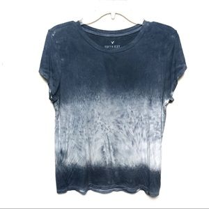 American Eagle | Soft & Sexy Tie Dye Ombré Top SzL